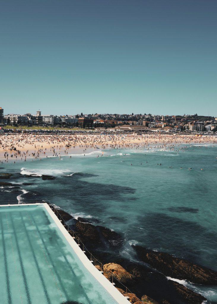 Bải biển Bondi Sydney